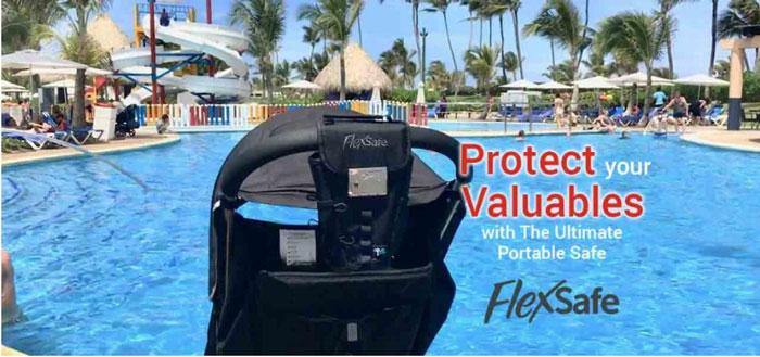 FlexSave Tasche: Schützen Sie Ihre Wertsachen auf Reisen