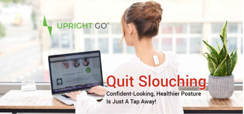 Wie Sie mit diesem Upright Go Ihre Körperhaltung verbessern
