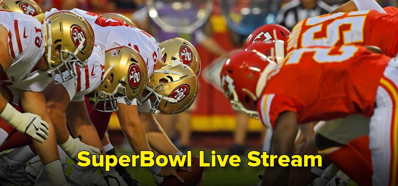 SuperBowl live stream