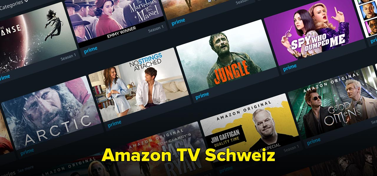 amazon tv schweiz