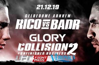 Glory kickboxing live stream mit Veronica TV