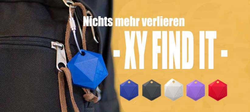 Finden Sie alle Ihre Sachen immer wieder – mit XY Find It